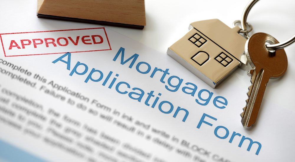 Image of Home Loan application form being approved